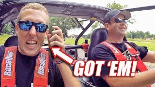 I SCARED CLEETUS in his OWN CAR!