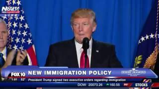 FULL SPEECH: President Donald Trump NEW Immigration Policy AND Border Wall Details