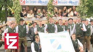 tz-Wiesn-Madl 2017: Mit dem Trachtenumzug zum Oktoberfest