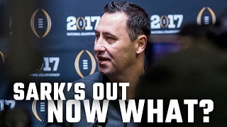 With Steve Sarkisian headed to the Falcons, what
