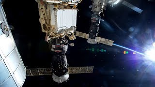 NASA/ESA ISS Space Station Livestream With Map - 48 - 2018-03-22