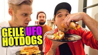 Leckere UFO Hotdogs aus der Mikrowelle