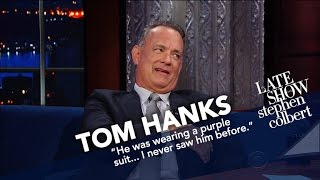 Tom Hanks Honored As Late Show