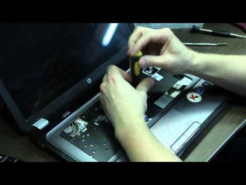 Разборка, чистка ноутбука HP Pavilion G6