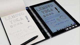 Lenovo Yoga Book   extended walkthrough & first impressions