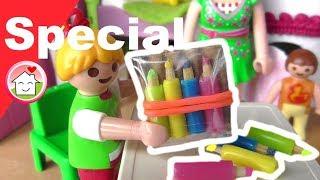 Playmobil Film deutsch Pimp my PLAYMOBIL Buntstifte / Basteln / DIY für Kinder / Family Stories