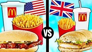 AMERICAN vs. BRITISH McDonald