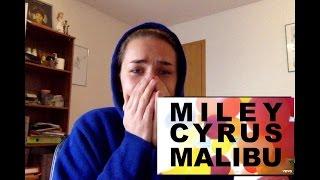 MALIBU - MILEY CYRUS (LIVE FAN REACTION)