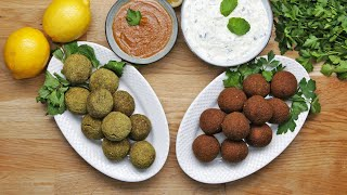 FALAFEL 2 WAYS : CLASSIC AND BAKED