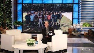 Ellen Spotlights Third Graders