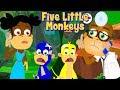Beş Küçük Maymun   çocuklar için �...mp3