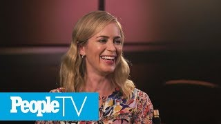 Emily Blunt Says It Was Love At First Sight With John Krasinski | PeopleTV | Entertainment Weekly