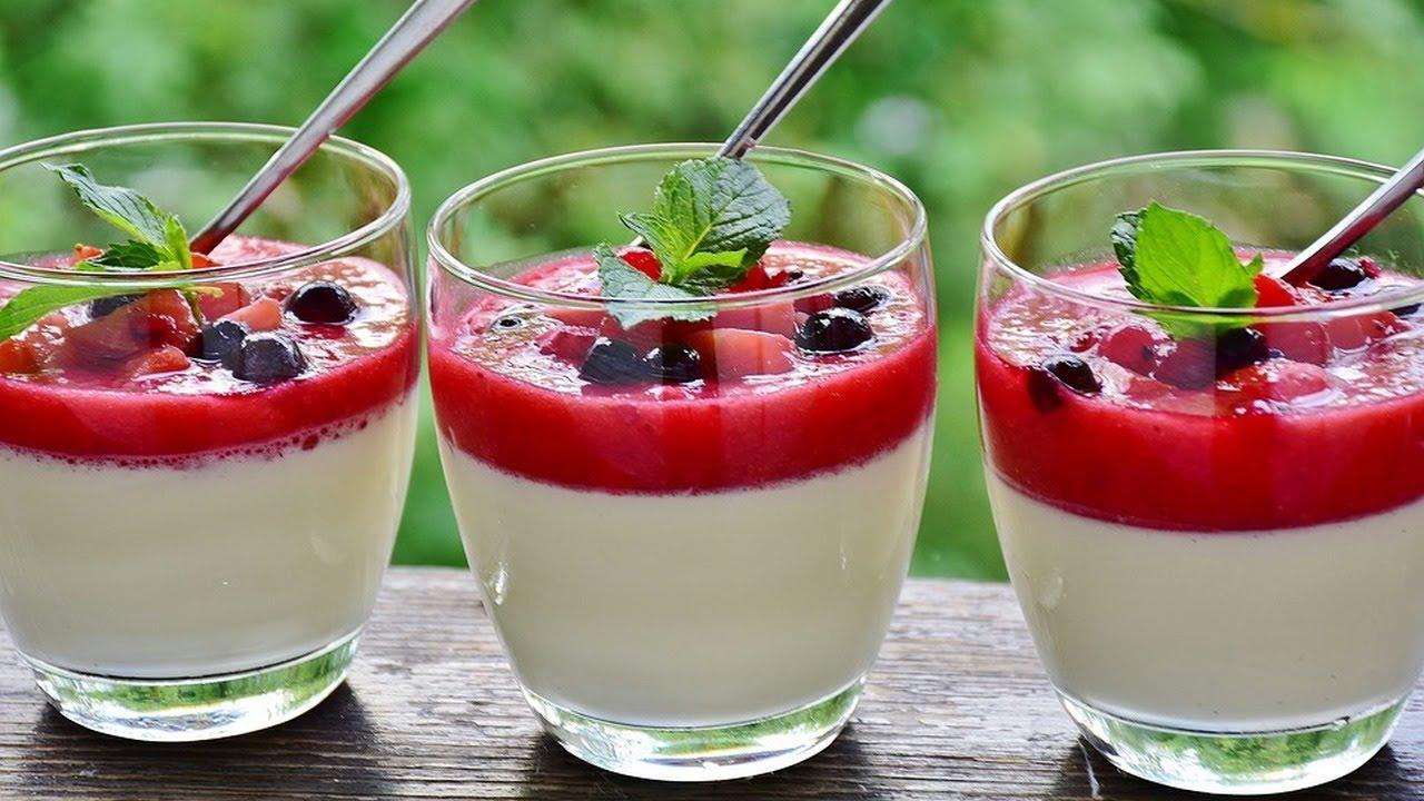 панакота рецепт с фото пошагово от эктора