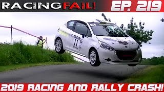 Racing and Rally Crash Compilation 2019 Week 219