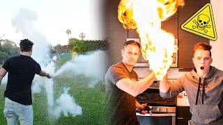 5 INSANE SCIENCE EXPERIMENTS