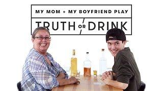 My Boyfriend & My Mom Meet for the First Time (Josh & Zandra) | Truth or Drink | Cut