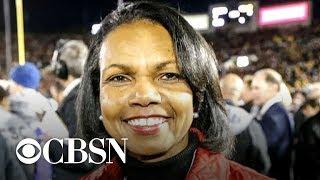 Condoleezza Rice says she won