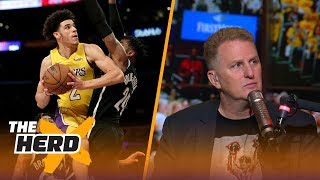 Michael Rapaport lists all the NBA Rookies better than Lonzo Ball | THE HERD