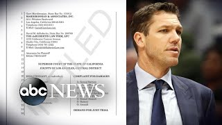 NBA coach accused of sexual assault