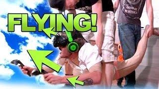 FLYING IN VR!!