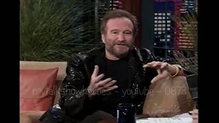 ROBIN WILLIAMS - HILARIOUS INTERVIEW