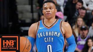 Oklahoma City Thunder vs Sacramento Kings Full Game Highlights / Feb 22 / 2017-18 NBA Season