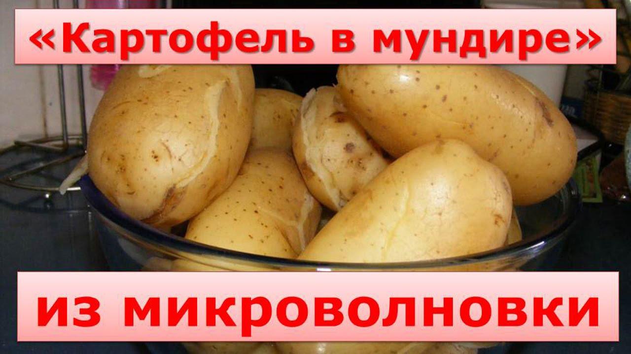 Как приготовить картофель в мундире
