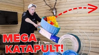 MEGA cooles SÜßIGKEITEN-KATAPULT ! 😱 II RayFox