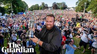 Shane Lowry reflects on Open win: 'It's not fully sunk in yet'