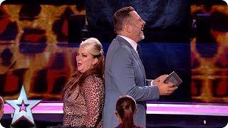HILARIOUS Mandy Muden brings her bag of magic tricks to the Semi's!   Semi-Finals   BGT 2018