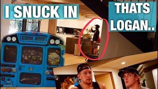 I BROKE INTO LOGAN PAULS HOUSE...*his reaction*