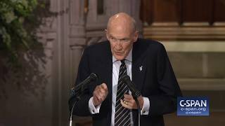 Former Senator Alan Simpson Tribute to President George H.W. Bush (C-SPAN)