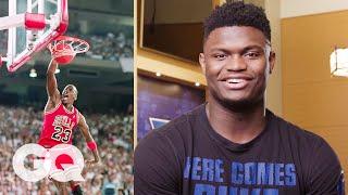 Zion Williamson, R.J. Barrett and the Duke Basketball Team Reveal Their NBA Heroes | GQ