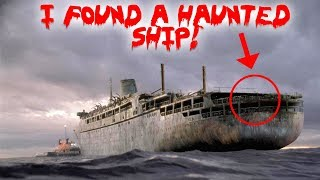 I FOUND A HAUNTED SHIP IN A MYSTERIOUS FOREST!!