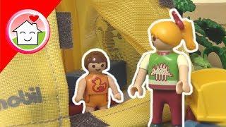 Playmobil Film deutsch Camping im Garten / Kinderfilm / Kinderserie von family stories