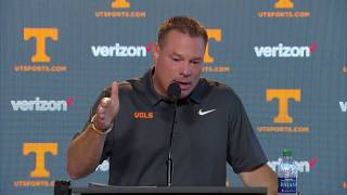 Butch Jones Press Conference (9.18.17)