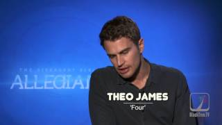 Theo James flirts in Interview for The Divergent Series:  Allegiant