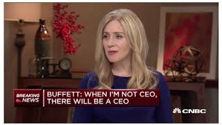 Full Warren buffet interview on CNBC- January 2018