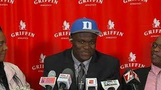 Zion Williamson picks Duke | ESPN