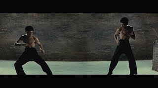 BRUCE LEE VS BRUCE LEE. NARRATIVE MOVIE MASHUP.AMDSFILMS.