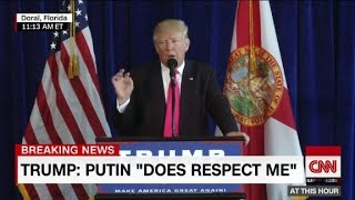 Donald Trump directly addresses Russia