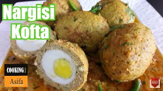 Nargisi Kofta curry | homemade restaurant-style scotch egg recipe| koftay ka salan | curry
