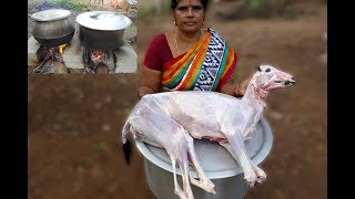 Full BIG Goat Recipe | VILLAGE FOOD