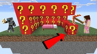 Minecraft: ROBLOX LUCKY BLOCK BEDWARS! - Modded Mini-Game