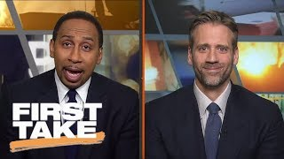 Stephen A. and Max debate if Kyrie Irving made right decision leaving Cavaliers | First Take | ESPN
