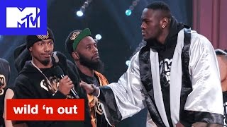 Deontay Wilder Might Beat Up Nick Cannon & Intimidates Hitman Holla | Wild