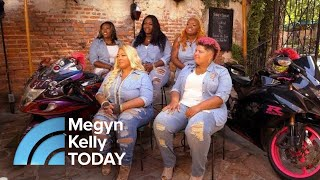 Meet The 13 Fearless Women Of The Caramel Curves Motorcycle Club   Megyn Kelly TODAY