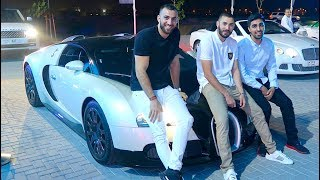 Hanging out with MESSI and BENZEMA - Real Madrid FOOTBALLER !!!