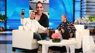 Alex Rodriguez FaceTimes with J.Lo