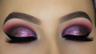 Purple Metallic Smokey Eyes Tutorial